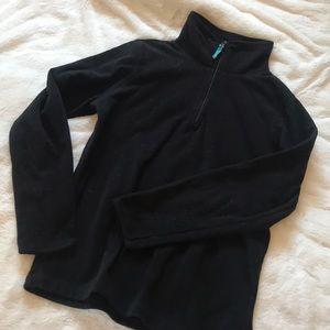 Black 3/4 Zip